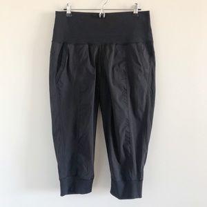 Lululemon Black Crop Pants 12